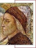 "The Bargello Chapel Giotto, (fr.) ""Portrait of Dante Alighieri"""