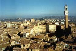 Excursions around Florence: Siena