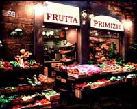 Typical markets in Florence: fruits and vegetables