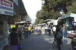 Typical markets in Florence: mercato delle Cascine