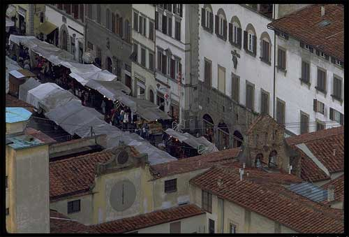 Typical markets in Florence: San Lorenzo market