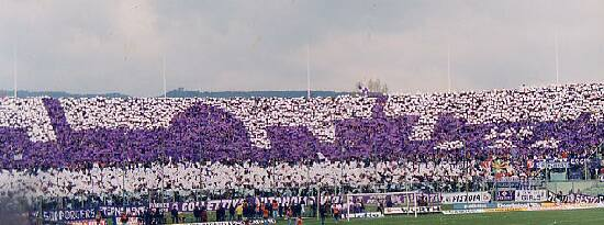 Sporty ve Florencii: Artemio Franchi Stadium - Fiorentina football club