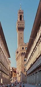 Palazzo Vecchio (the Old Palace) in Florence